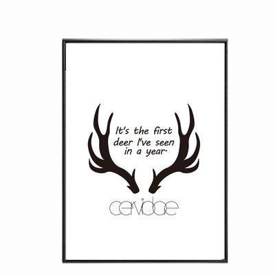 Nordic Chill Canvas Wall Art - apt201