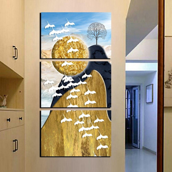 Nature's Beauty 3 Panel Canvas Wall Art - Apartment 201