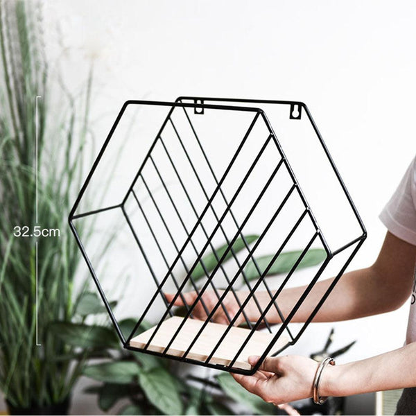 Geometrical Wall Hanging Shelf - Apartment 201