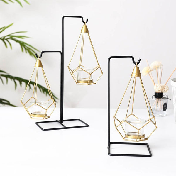 Nordic Lantern Chilled Candle Stick Holders - Apartment 201