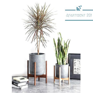 Boho Beech Wood Stand - Apartment 201
