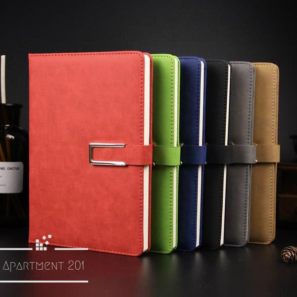 Leather Notebook Organizer - Apartment 201