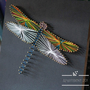 Dragon Fly String Art DIY Kit - Apartment 201