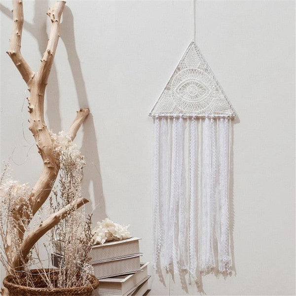Boho Pyramid Eye Macrame - Apartment 201