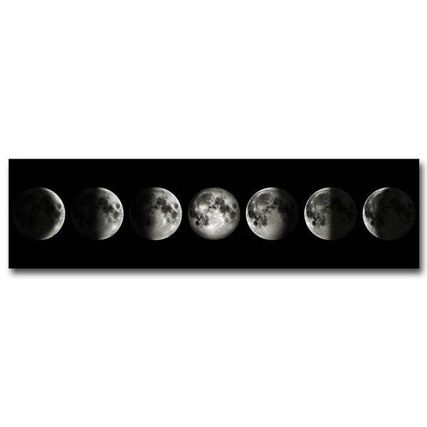 Lunar Eclipse Canvas Wall Art - Apartment 201
