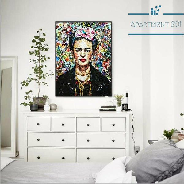 Frida Kahlo Wall Art - Apartment 201