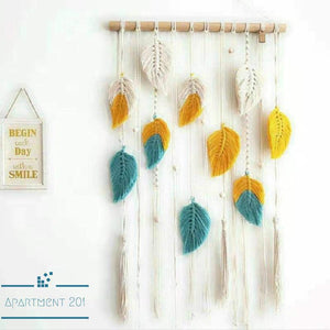 Falling Leaves Boho Macrame - Apartment 201