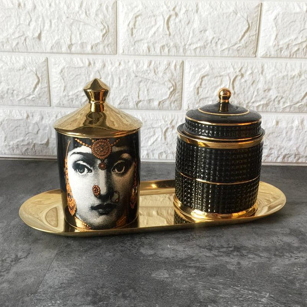 Fornasetti Candle Holder - Apartment 201