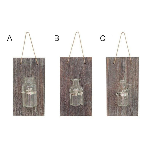 Rustic Glass Hanging Planter - Apartment 201