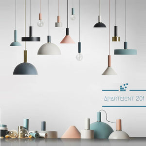 Nordic Pendant Lights - Apartment 201