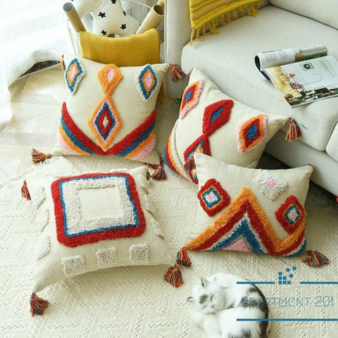Colorful Moroccan Styled Cushion Covers - apt201