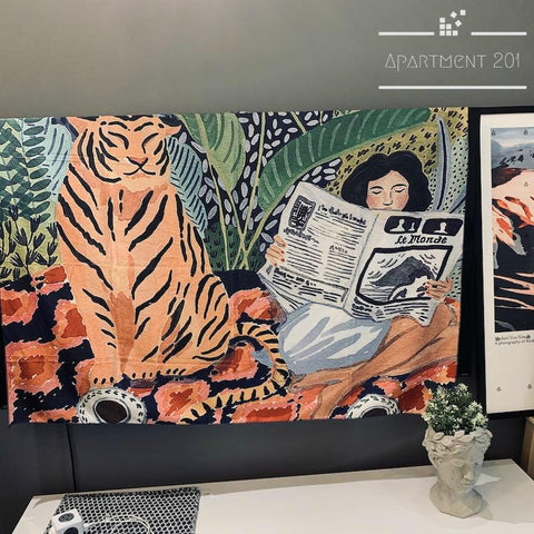 Jungle Moments Wall Tapestry - Apartment 201