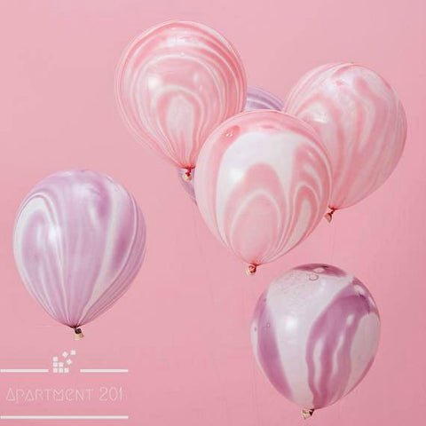 Marble Latex Balloons - Apartment 201