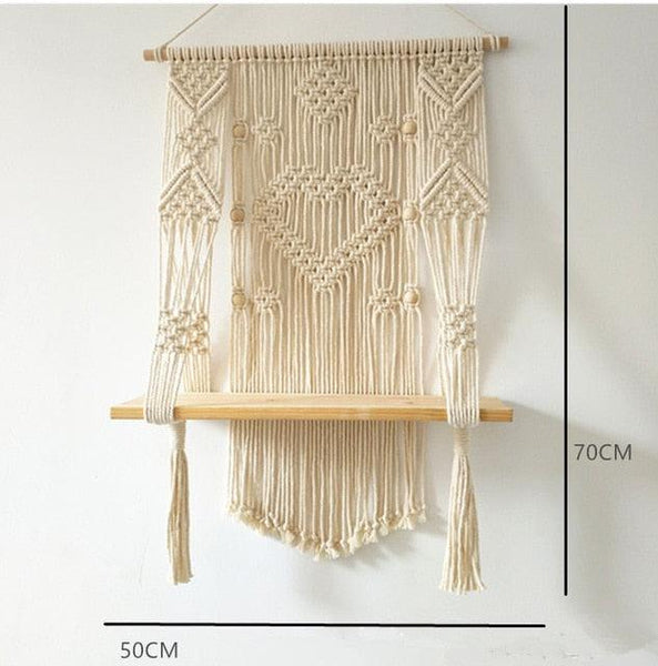 Modish Macrame Hanging Planter Basket - Apartment 201