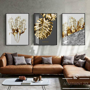 Magical Leaf Canvas Wall Art - Apartment 201