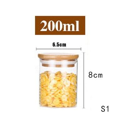 Air Sealed Glass Jar Containers - Apartment 201
