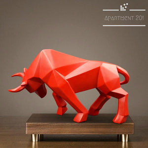 Mighty Bull Figurine - Apartment 201