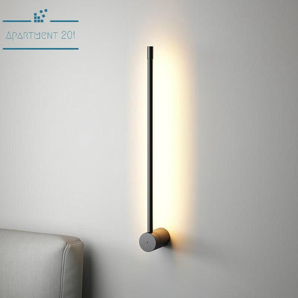 Minimalist Vertical LED Wall Lamp - Apartment 201