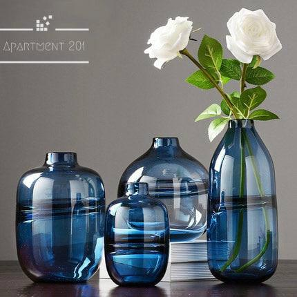 Americana Transparent Bubble Vases - Apartment 201