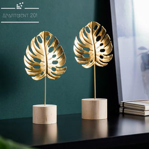 Modish Decorative Leaves - Apartment 201