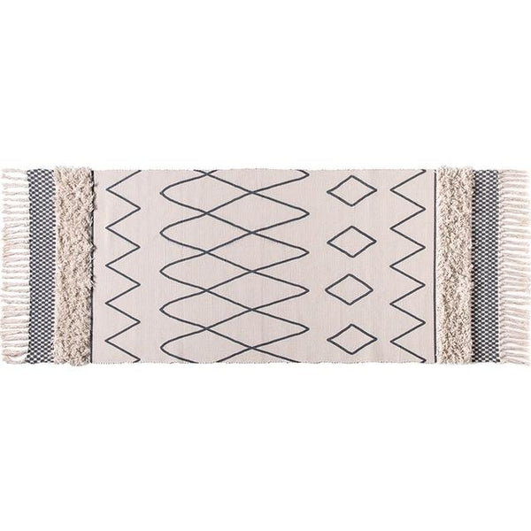 Casablanca Handwoven Tassel Rug - Apartment 201