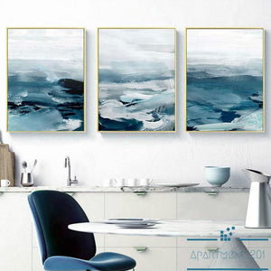 Mystical Ocean Breeze Canvas Wall Art - Apartment 201