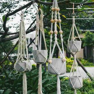 Boho Macrame Hanging Planter - Apartment 201