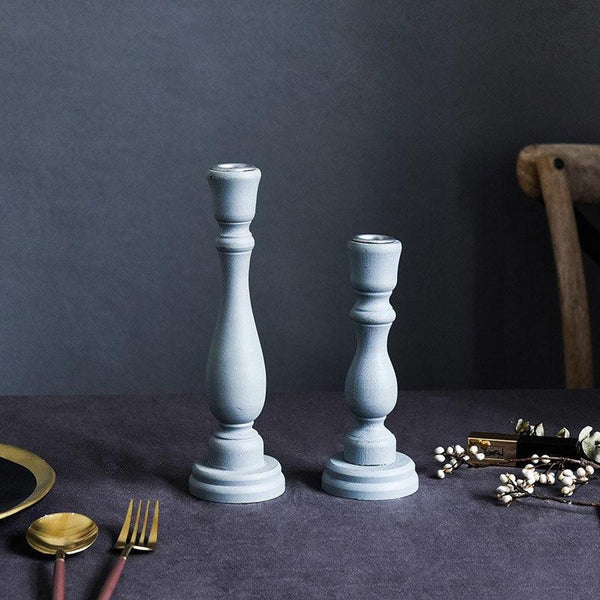 Moroccan Styled Pillar Candlestick Holders - Apartment 201
