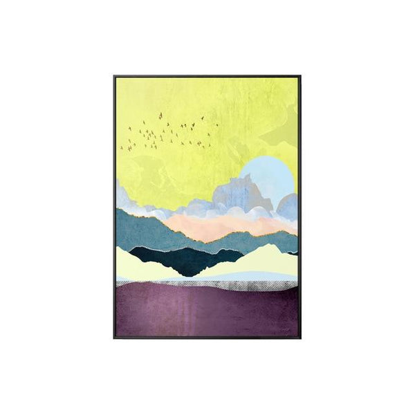 Abstract Starry World Canvas Wall Art - Apartment 201