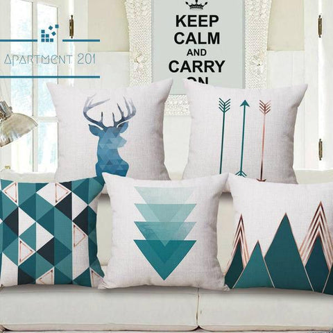 Scandi Vision Cushion Covers - apt201