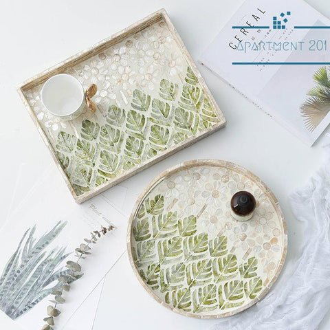 Shell Stunning Serving Trays - Apartment 201