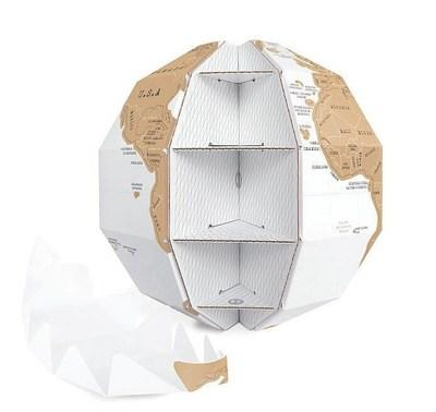 3D DIY Scratch Globe - Apartment 201