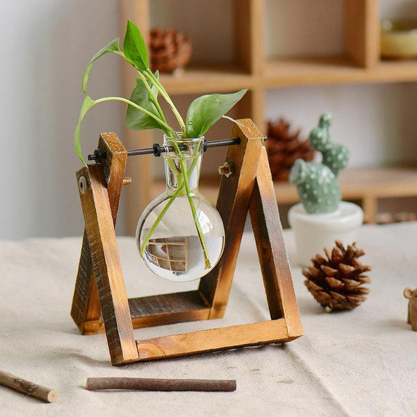 Glass Flask Planter Set - Apartment 201