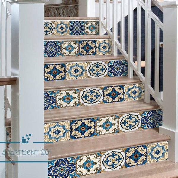 Mediterranean Styled Wall Tile Stickers - Apartment 201