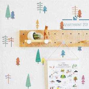 Happy Tree Wall Decal Set - apt201