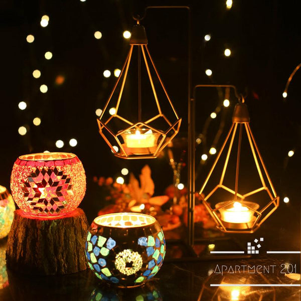Starry Mosaic Candle Holder - Apartment 201
