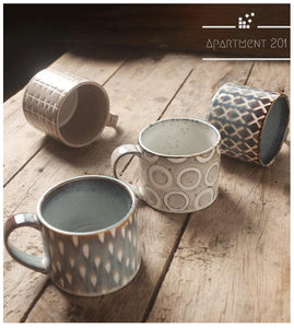 Rustic Cabin Ceramic Mug - Apartment 201