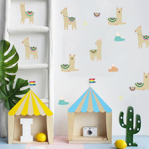 Llama Rama Wall Decal Set - Apartment 201