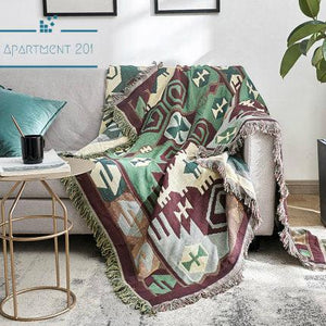 Alpaca Hill Cotton Throw Blanket - Apartment 201