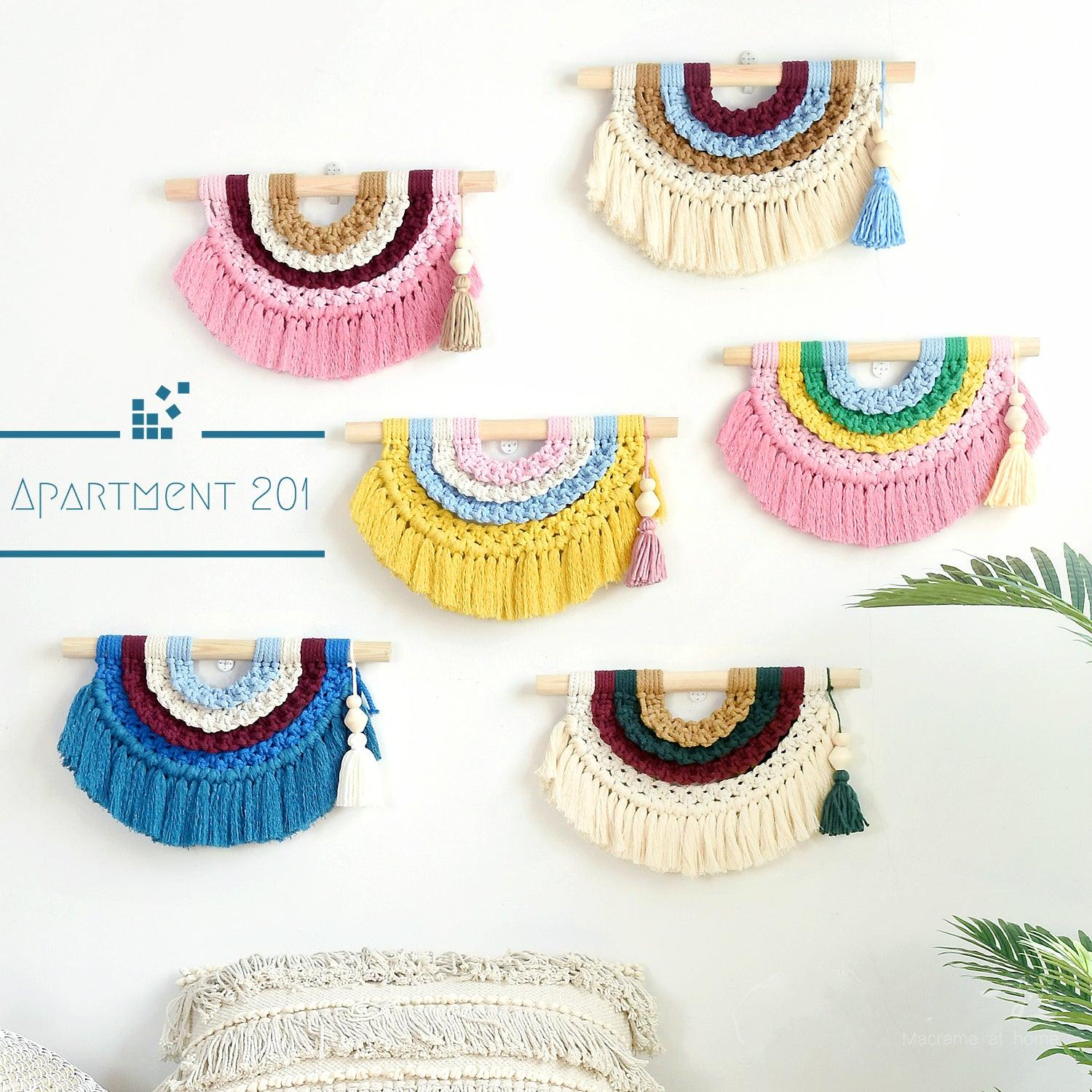 Rainbow Macrame - Apartment 201