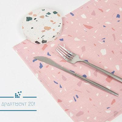 Terrazzo Patterned Placemat Set of 2 - apt201