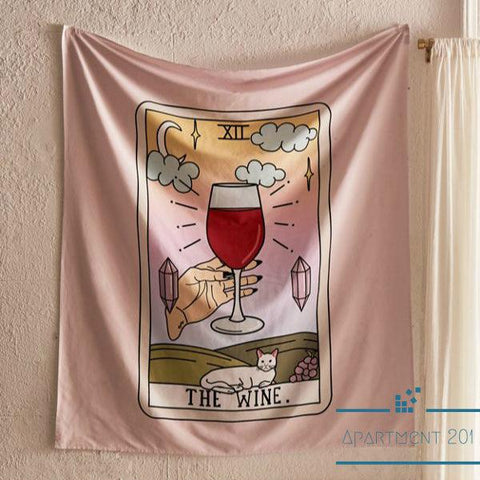 The Wine Wall Tapestry - apt201