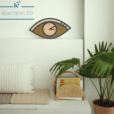 Funky Eye Wall Clock - Apartment 201