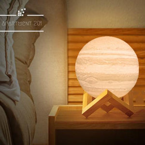 3D LED Jupiter Lamp - Apartment 201