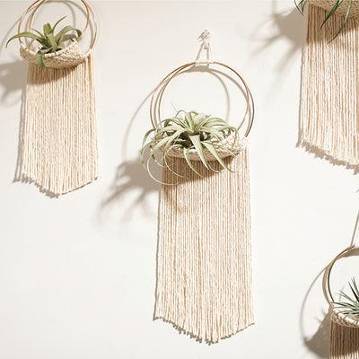 Hanging Hoop Macrame Planter - Apartment 201