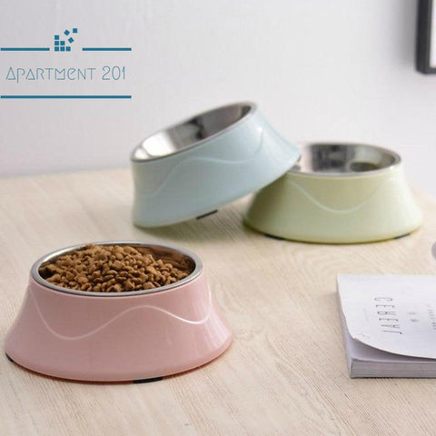 Minimalist 2 in 1 Pet Food Bowl - Apartment 201
