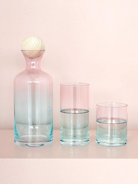 Spring Blossom Ombre Water Jug Set - Apartment 201