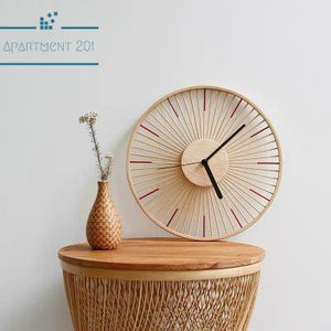 Bamboolistic Wall Clock - Apartment 201