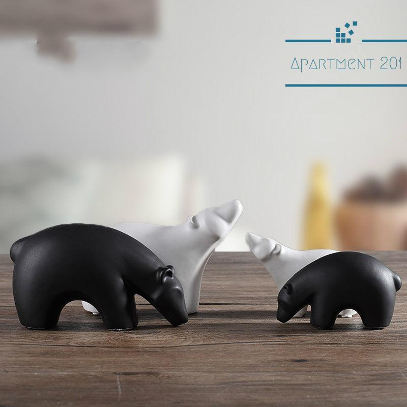 Glacier Bear Figurines - Apartment 201