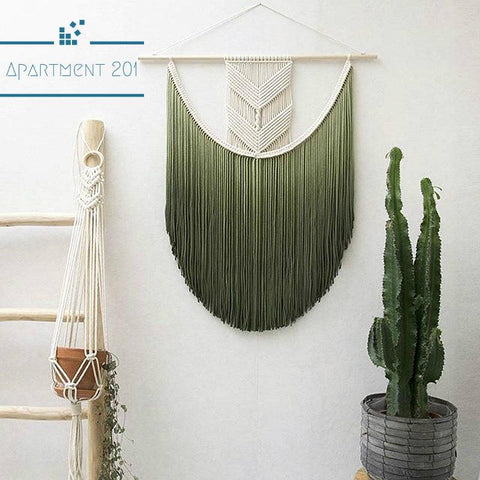 Ombre Macrame Tapestry - apt201